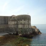 Die mauer in Dubrovnik