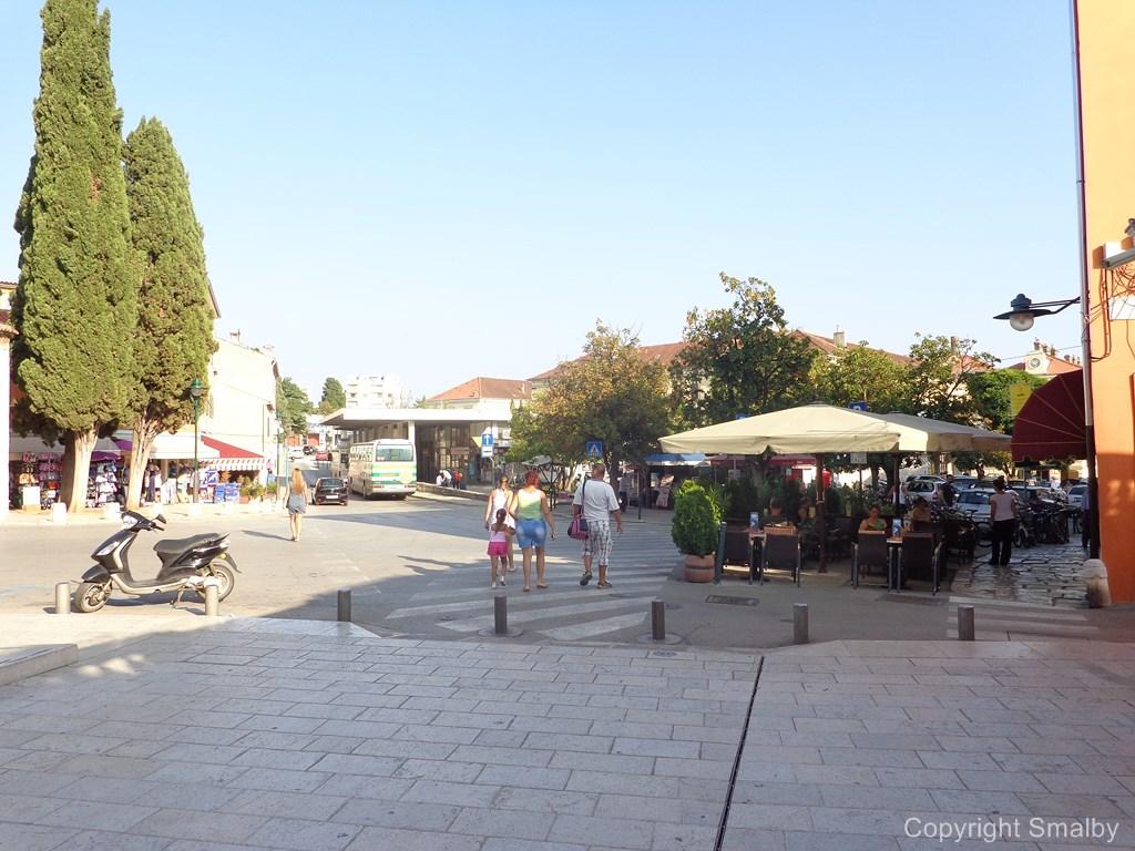 Stazione bus Rovigno