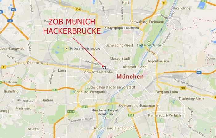 Munich ZOB Hackerbruecke