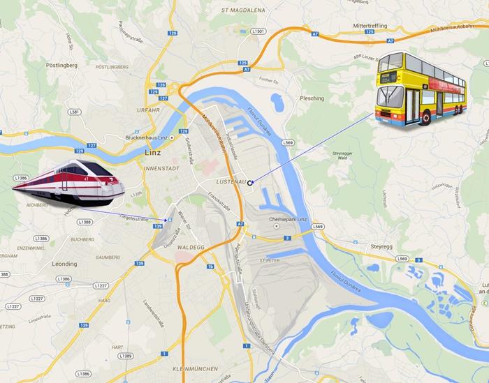 Autobusne Linije Linz Hrvatska Industriezeile Vozni Red